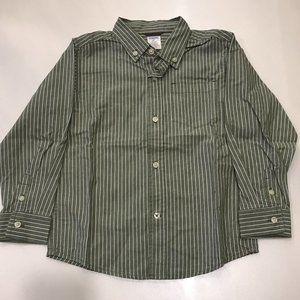 Button Down Boys Shirt - Size 4T
